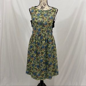 Zara Basics Floral Dress Size Medium